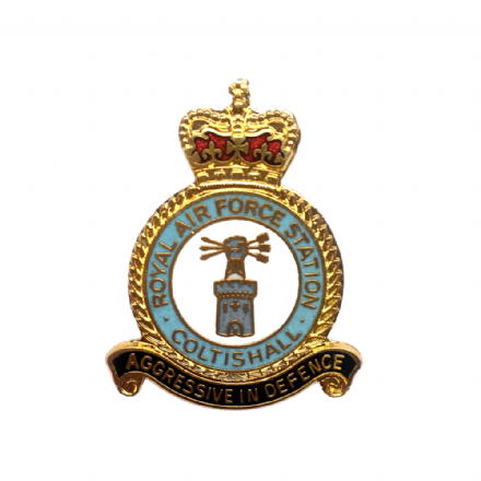Royal Air Force RAF Station Coltishall Lapel Badge